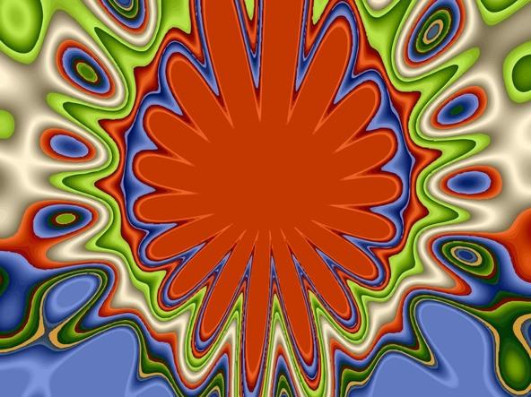 Abstract Art Visible Math Imaginary