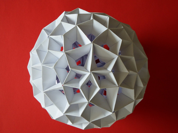 The Hexagonal Concave Unit Some Examples Of Polyhedra Construction Using Modular Origami