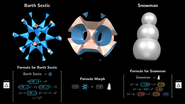 Formula Morph | IMAGINARY