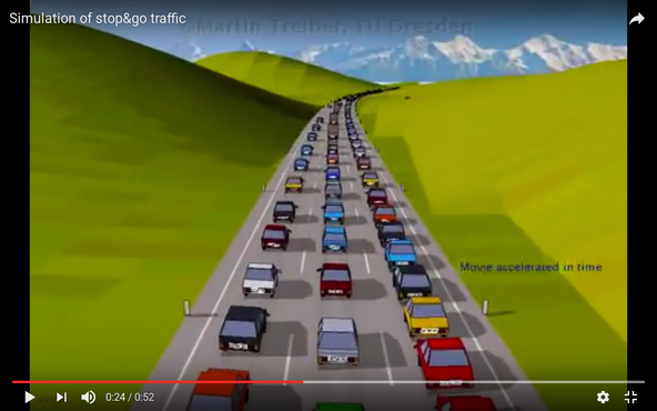Interactive Traffic Simulation | IMAGINARY
